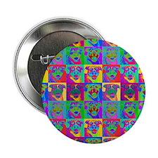 """Op Art Pitbull 2.25"""" Button (100 pack)"""