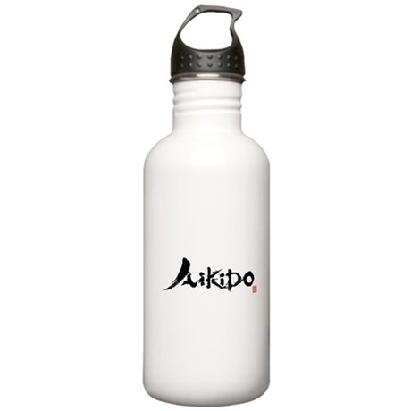aikido_ut_aikikai Stainless Water Bottle 1.0L