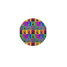 Op Art Shar Pei Mini Button (10 pack)