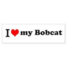 I (heart) Bobcat Bumper Bumper Sticker