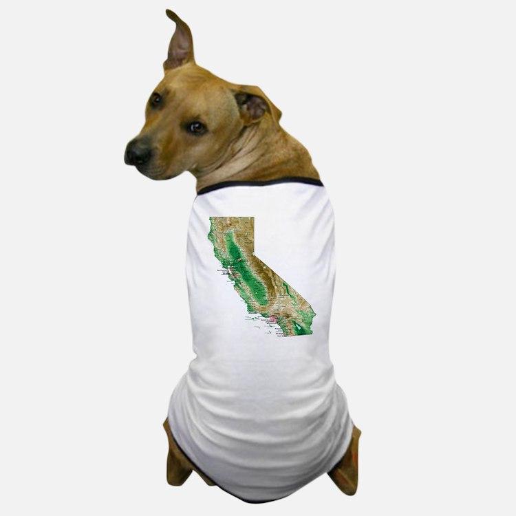 Cute California map Dog T-Shirt