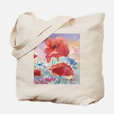 Red Poppies Tote Bag 2