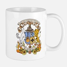 Kaniac Crest English Motto Mug