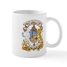 Kaniac Crest English Motto Small Mug