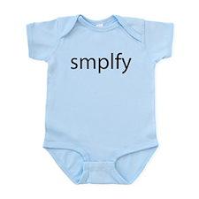 Smplfy (Simplify) Infant Bodysuit