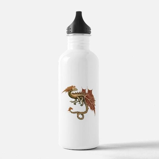 Autumn Leaf Dragon Water Bottle