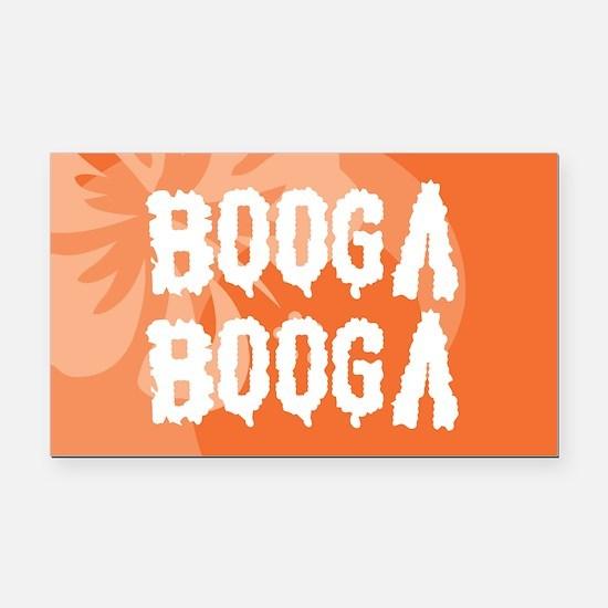 Booga Booga Rectangle Car Magnet