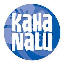 Kaha Nalu Round Car Magnet