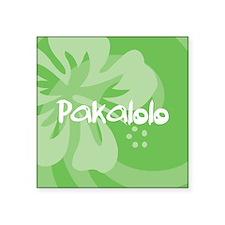"Pakalolo Square Sticker 3"" x 3"""