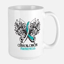Butterfly Cervical Cancer Mug