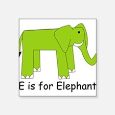 "Elephant10.png Square Sticker 3"" x 3"""