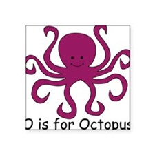 "Octopus10.png Square Sticker 3"" x 3"""
