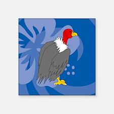 """Vulture Square Sticker 3"""" x 3"""""""