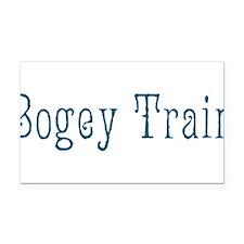 Bogey Train Rectangle Car Magnet