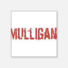 "Mulligan Square Sticker 3"" x 3"""