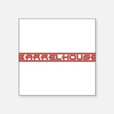 "Barrelhouse10x8.png Square Sticker 3"" x 3"""