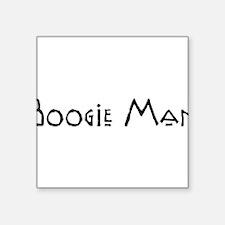 "BoogieMan10.png Square Sticker 3"" x 3"""