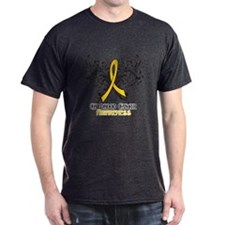 Butterfly Childhood Cancer T-Shirt