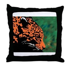 Leopard 10 Throw Pillow