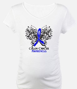 Butterfly Colon Cancer Shirt