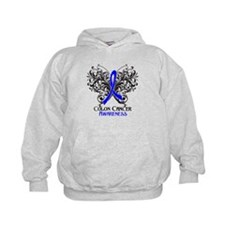 Butterfly Colon Cancer Hoodie
