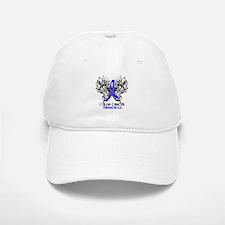 Butterfly Colon Cancer Baseball Baseball Cap