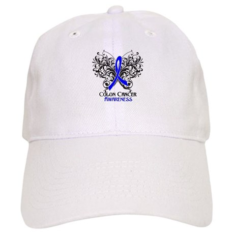 Butterfly Colon Cancer Cap