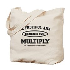 BE FRUITFUL AND MULTIPLY Tote Bag