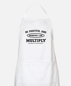 BE FRUITFUL AND MULTIPLY Apron
