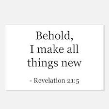 Revelation 21:5 Postcards (Package of 8)