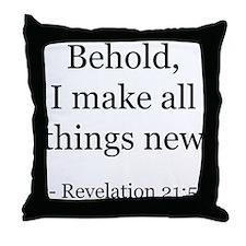 Revelation 21:5 Throw Pillow