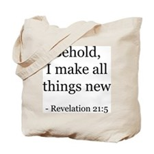 Revelation 21:5 Tote Bag