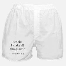 Revelation 21:5 Boxer Shorts