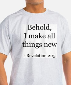 Revelation 21:5 Ash Grey T-Shirt