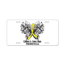 Butterfly Ewing Sarcoma Aluminum License Plate