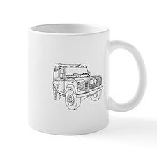 Defender 90 Line Mug