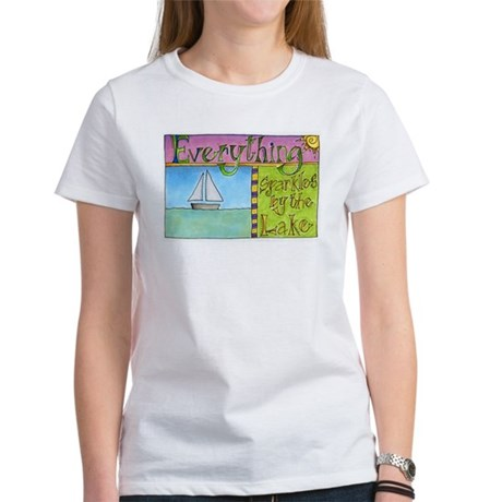 Sparkles by the Lake Women's T-Shirt