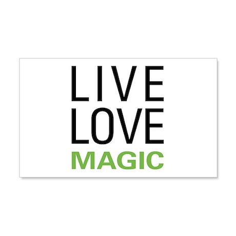 Live Love Magic 22x14 Wall Peel