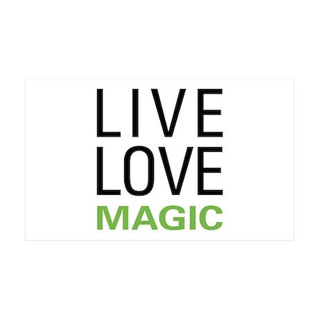 Live Love Magic 38.5 x 24.5 Wall Peel