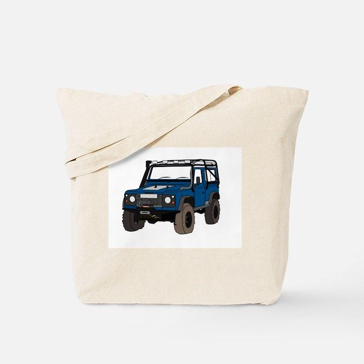 Off-road Defender 90 Colour Tote Bag