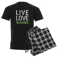 Live Love Mambo pajamas