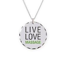 Live Love Massage Necklace