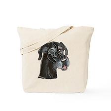 Blk Winker Tote Bag