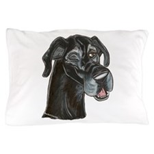 Blk Winker Pillow Case