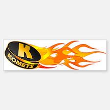 Komets Hockey Bumper Bumper Bumper Sticker
