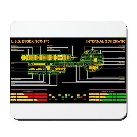 Daedalus class MSD Mousepad