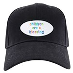 CHILDREN ARE A BLESSING Black Cap