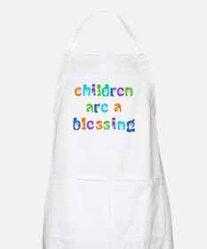CHILDREN ARE A BLESSING Apron