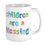CHILDREN ARE A BLESSING Large Mug