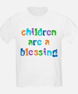 CHILDREN ARE A BLESSING T-Shirt